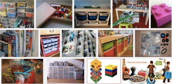 レゴの収納写真