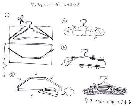 クッションハンガーの作り方
