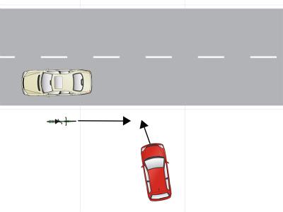 自動車事故ケース3
