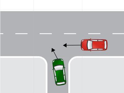 自動車事故ケース1