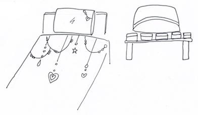風を通す枕収納