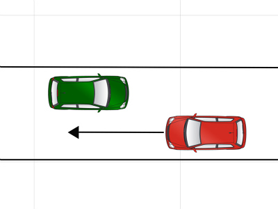 自動車事故ケース2