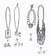 素材で分けるネックレス収納