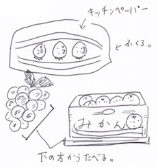 果物の収納方法