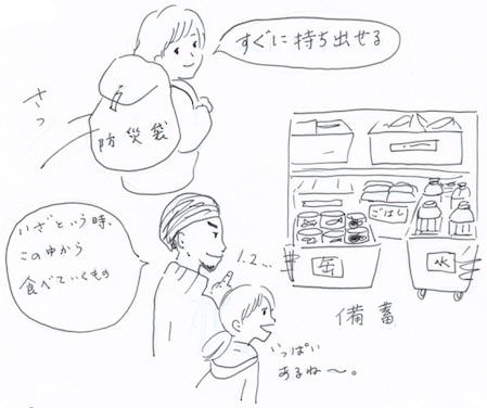 防災袋と食品備蓄の違い