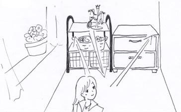 収納家具と動線の関係