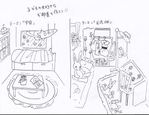 子ども部屋の収納はポップ・かわいさ・実用性