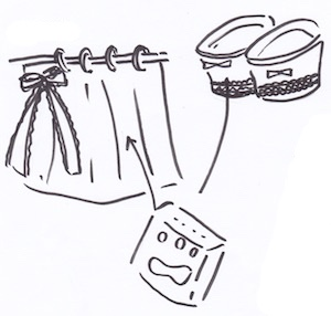 サニタリーグッズのトイレ収納