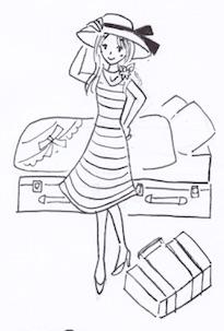 スーツケースをベッド下の収納ケースに