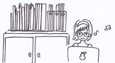 机の整理整頓で生産性アップ