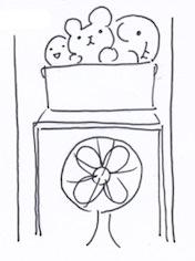 物置で収納ラックや収納棚を使う
