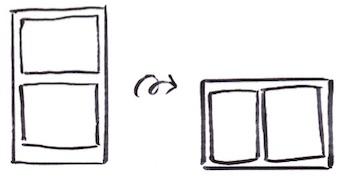 カラーボックスとボックスの組み合わせ収納