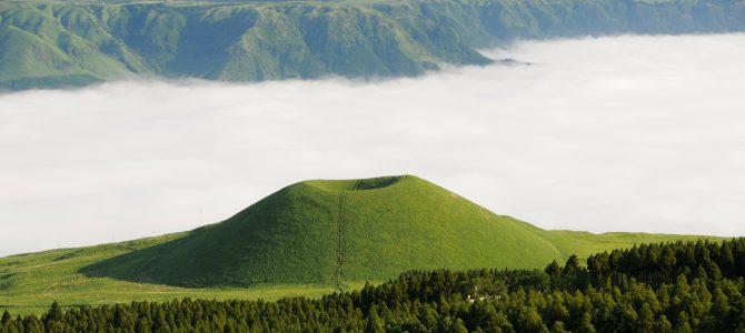 熊本の阿蘇山