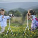子どもの写真撮影とモデル