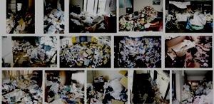 ゴミ屋敷の画像