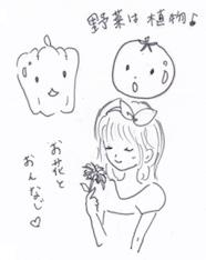 野菜は植物