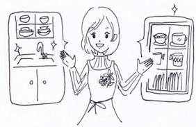 キッチン収納のアイデアと実例