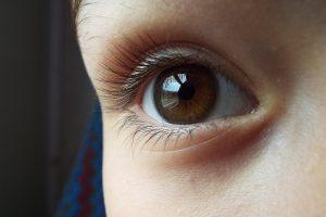 子供の目と瞳